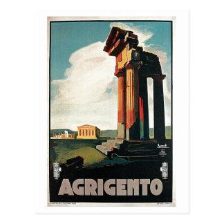 Italienische Reise Vintage Zwanzigerjahre Postkarte