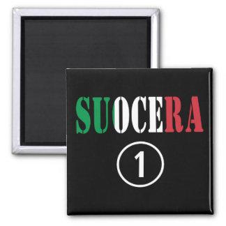 Italienische Schwiegermütter: Suocera Numero UNO Magnete