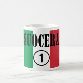 Italienische Schwiegermütter: Suocera Numero UNO Tasse