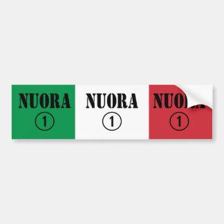 Italienische Schwiegertöchter: Nuora Numero UNO Autoaufkleber
