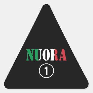 Italienische Schwiegertöchter: Nuora Numero UNO Dreiecks-Aufkleber