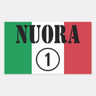Italienische Schwiegertöchter: Nuora Numero UNO Rechteckiger Aufkleber