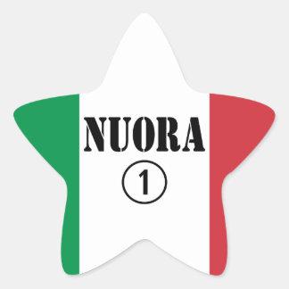 Italienische Schwiegertöchter: Nuora Numero UNO Stern-Aufkleber