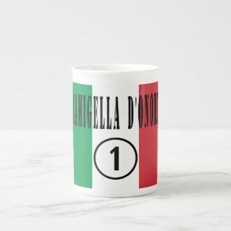 Italienische Trauzeuginnen: Damigella D'Onore Porzellantasse