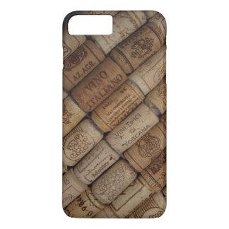 Italienische Wein-Korken-Sammlung iPhone 8 Plus/7 Plus Hülle