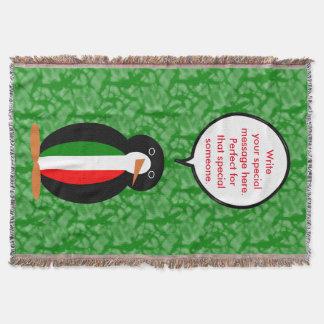 Italienischer Feiertags-Herr Pengiun Decke