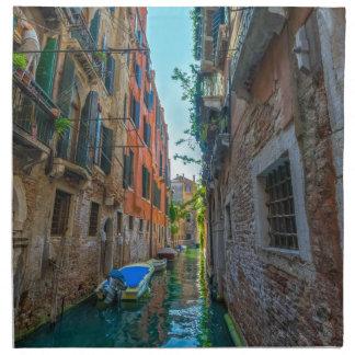 Italienischer Fluss Stoffserviette