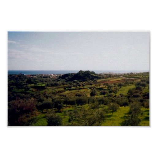 Italienischer Horizont Poster
