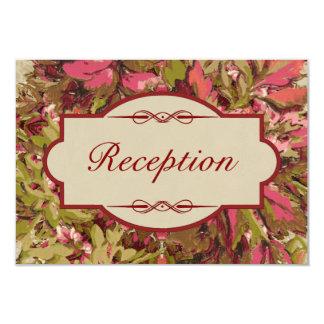 Italienischer Renaissance-Garten Reihe-Empfang 1 8,9 X 12,7 Cm Einladungskarte