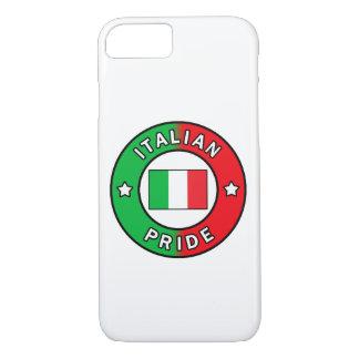 Italienischer Stolztelefonkasten iPhone 8/7 Hülle