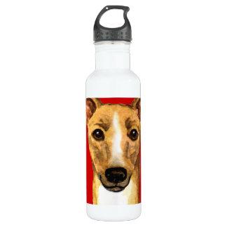Italienischer Windhund-Farbblock Trinkflasche