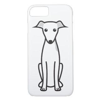 Italienischer Windhund-HundeCartoon iPhone 8/7 Hülle