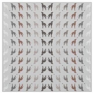 Italienischer Windhund-Hunderettung Joann Gewebe Stoff