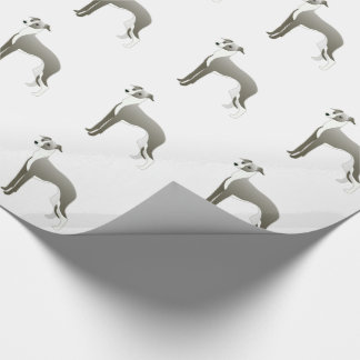 Italienischer Windhund-Hundezucht-Illustration Geschenkpapier