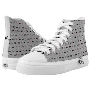 newest df520 85570 Italienischer Windhund-Turnschuh-Schuhe mit rosa Hoch-geschnittene Sneaker