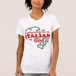 Italienisches Mädchen T-Shirts