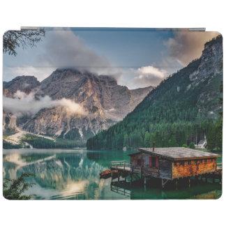 Italienisches Mountainssee-LandschaftsFoto iPad Hülle