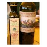 Italienisches ~ Öl u. Wein Postkarte