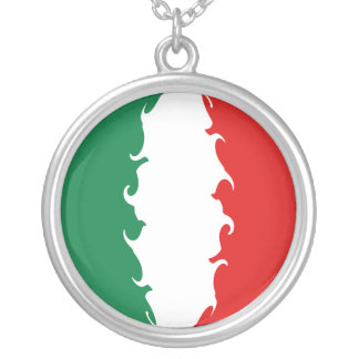 Italy Gnarly Flag Necklace