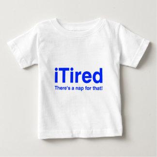 iTired gibt es ein Nickerchen für das Baby T-shirt