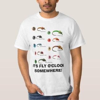 ITIS FLIEGEN O'O ' UHR IRGENDWO T-Shirt