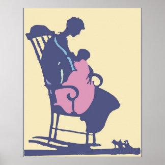 <It's a Girl> durch Steve-Bergmann Poster