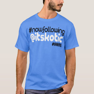 itsKOTIC Twitter-T-Shirt (AQUAMARIN) T-Shirt