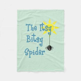 Itsy Bitsy Spinnen-Fleece-Decke Fleecedecke