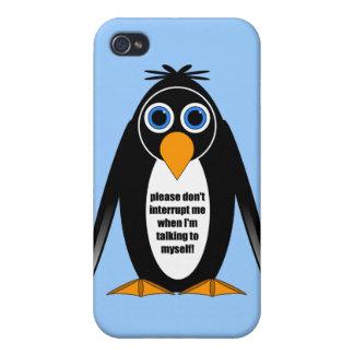 itude Pinguin Hülle Fürs iPhone 4