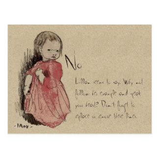 Ivar Arosenius Lillan sagt kein CC0238 Postkarte