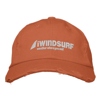 iW Orange beunruhigter Hut