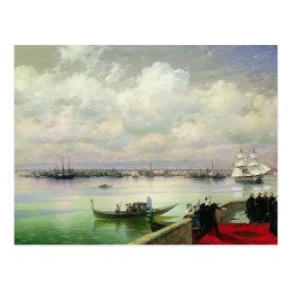 Iwan Aivazovsky- Byron Besuchsmhitarists Postkarte