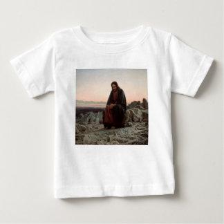 Iwan Kramskoy- Christus in der Wildnis-schönen Baby T-shirt