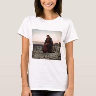 Iwan Kramskoy- Christus in der Wildnis-schönen T-Shirt