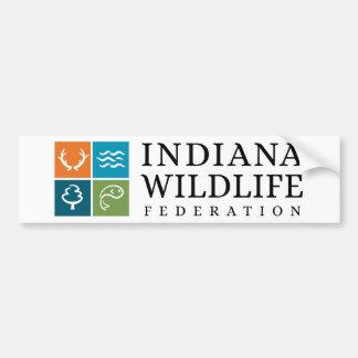 IWF Logo Autoaufkleber
