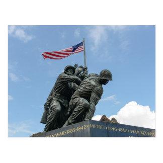 Iwojima-Denkmal im Washington DC Postkarte
