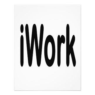 iwork Entwurfsschwarztext Ankündigungen
