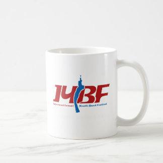 IYBF Firmenzeichen Kaffeetasse