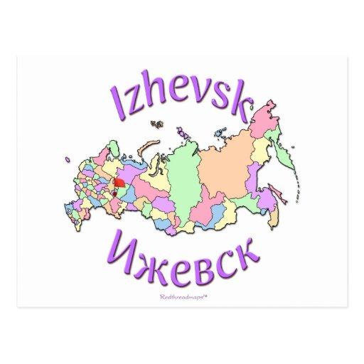 Izhevsk Russland Postkarte