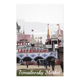 Izmailovsky Market_english Briefpapier