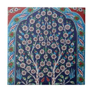 Iznik Arabeske-Keramiken schöner Ottoman Kleine Quadratische Fliese