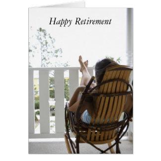 j0430950, glücklicher Ruhestand Karte