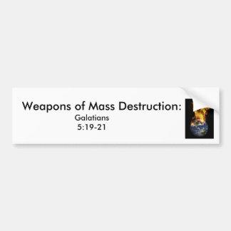j0437381, Massenvernichtungsmittel:  , Galat… Autoaufkleber