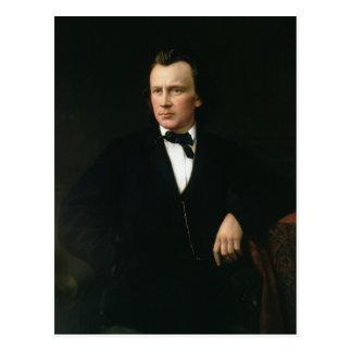J. Brahms, c.1860 Postkarte