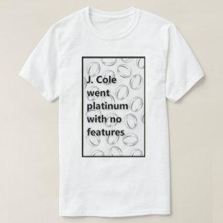 J. Cole ging Platin ohne Eigenschaften T-Shirt