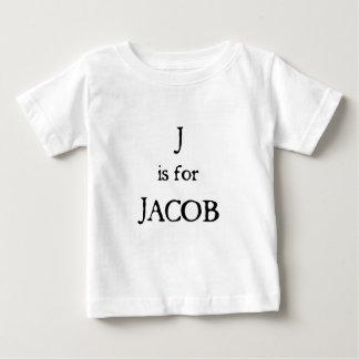 J ist für Jakob Baby T-shirt