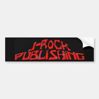 J-Rock-Verlags- Logo-Aufkleber Autoaufkleber