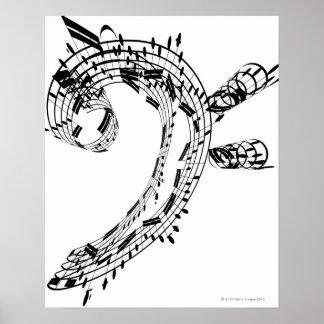 J.S.Bach Cello-Reihe Poster