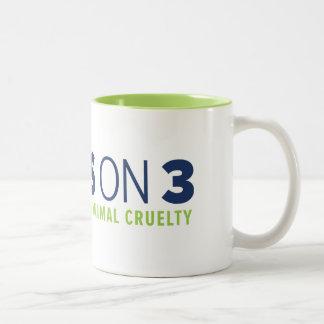 Ja auf 3! Zwei-Ton Tasse