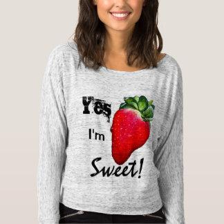 Ja bin ich das Shirt der süßen Erdbeerfrauen